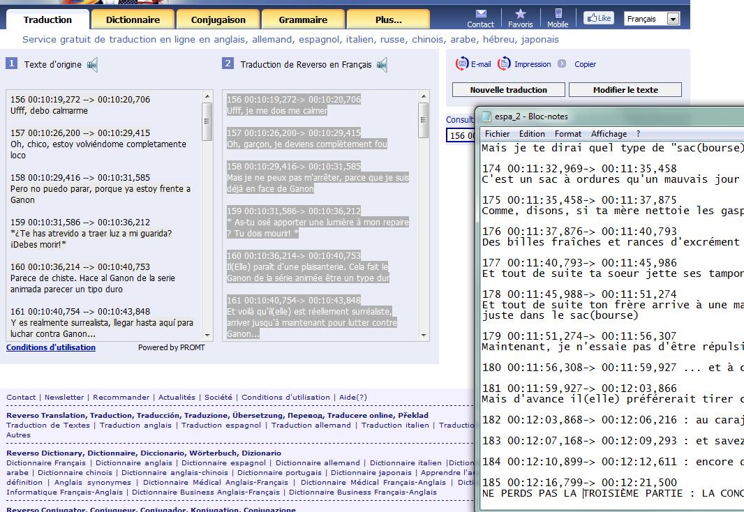 """(Sous-titrage en """"Closed Captions"""" sur Youtube) Ma méthode de sous titrage  Tuto3-3abe124"""